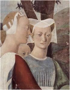 Piero della Francesca, Fresques d'Arezzo (1452-1466)