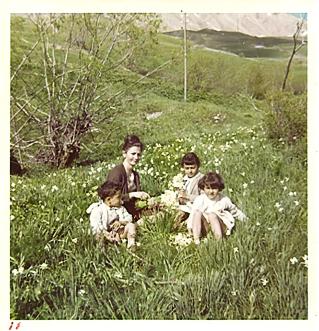 Le temps de l'innocence, avec mes trois jeunes enfants
