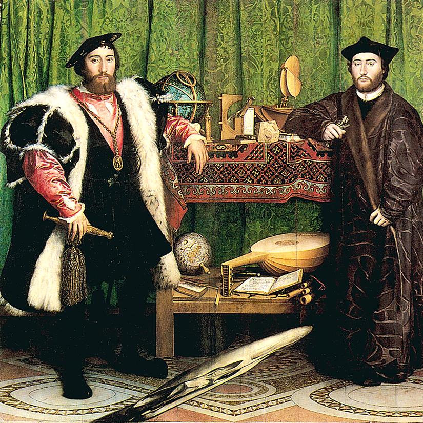 Holbein : les Ambassadeurs