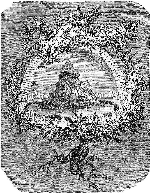 The Ash Yggdrasil par Friedrich Wilhelm Heine