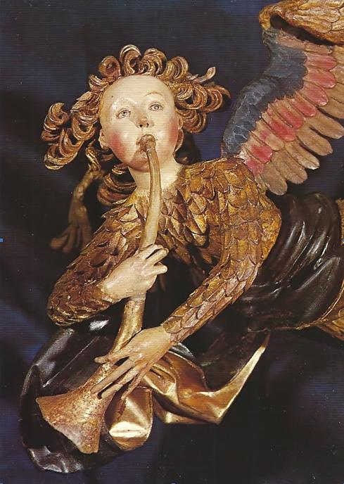 Ange musicien de Veit Stoss (1518)