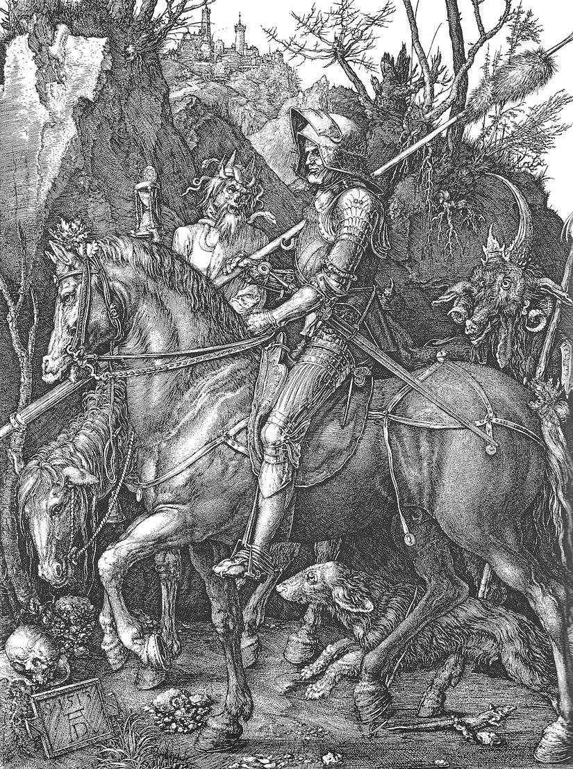 Dürer, Le Chevalier, 1513