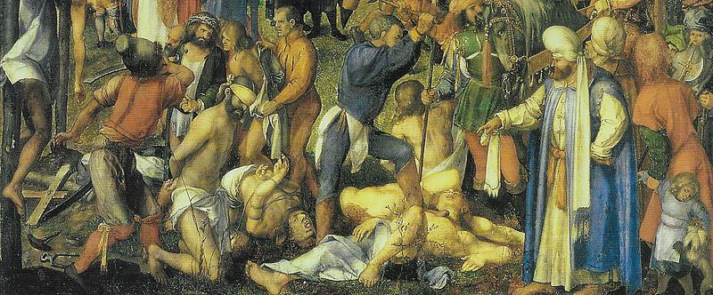 Dürer : Le Martyre des dix-mille Chrétiens